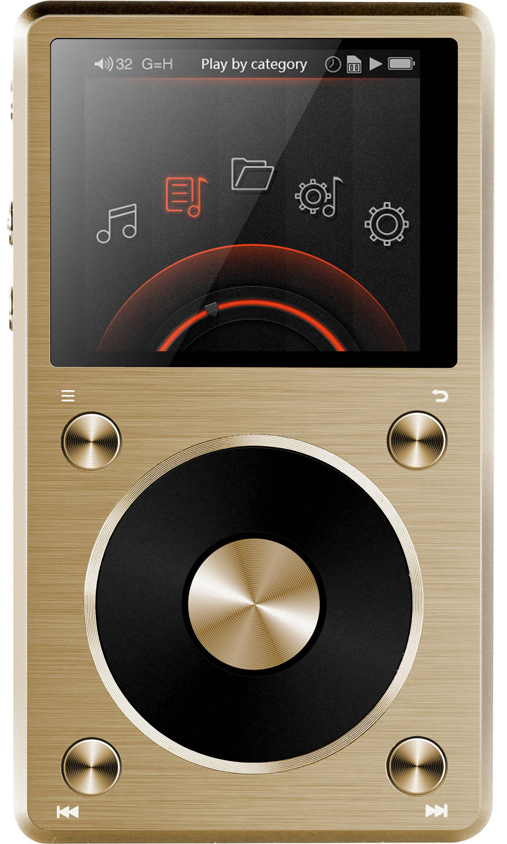Fiio X5 II Limited Edition, Gold Hi-Res плеер