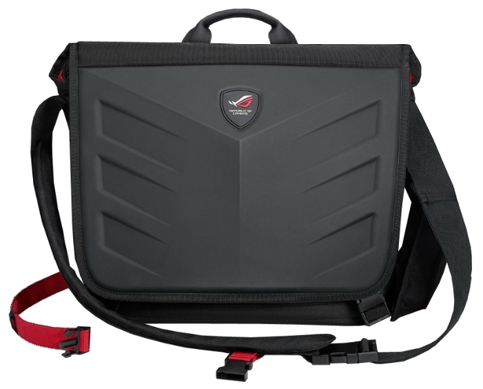 Сумка для ноутбука 15.6 ASUS ROG Ranger Messenger, Balck