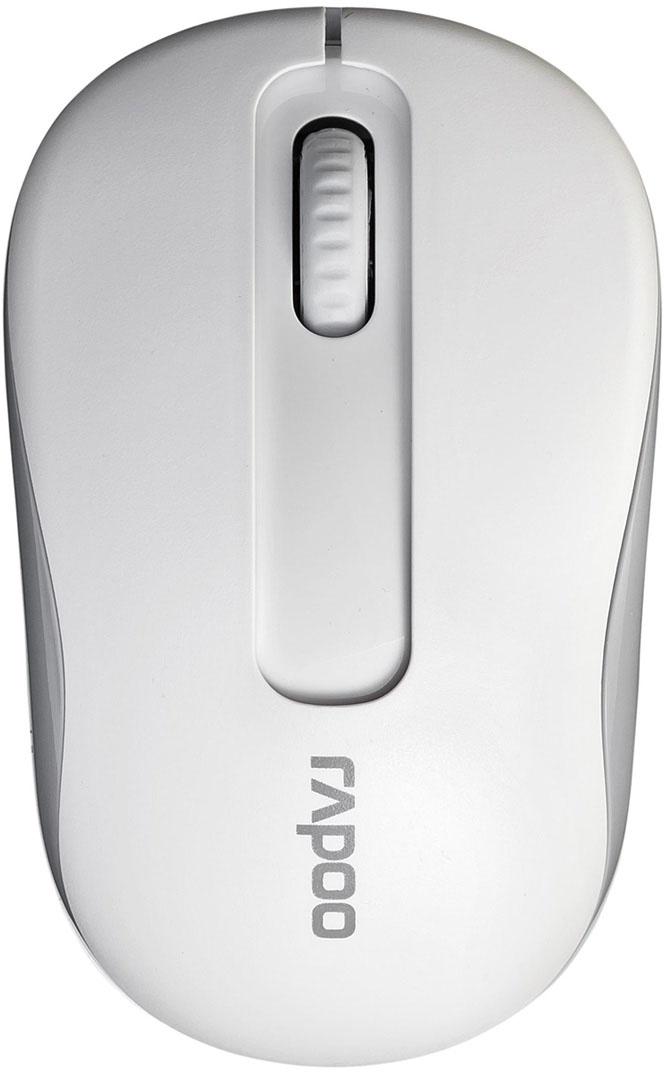 Мышь Rapoo M10, White10926Беспроводное подключениеНадежное подключение 2.4 ГГц на удалении до 10 метров.До 9 месяцевБлагодаря последним разработкам энергосбережения Rapoo и кнопке выключения, мышь может работать до 9 месяцев без подзарядки.Точное позиционированиеТакой результат достигается невидимым сенсором с чувствительностью 1000 DPI.