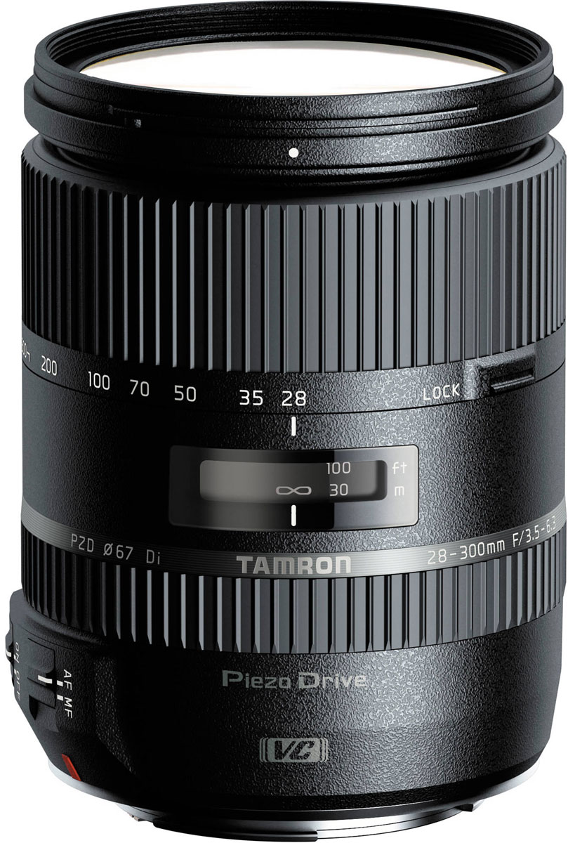 Tamron 28-300mm F/3.5-6.3 Di VC PZD объектив для Canon tamron 28 300mm f 3 5 6 3 di vc pzd объектив для canon