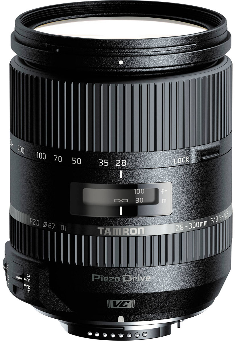 Tamron 28-300mm F/3.5-6.3 Di VC PZD объектив для Nikon tamron 16 300mm f 3 5 6 3 di ll vc pzd macro nikon объектив