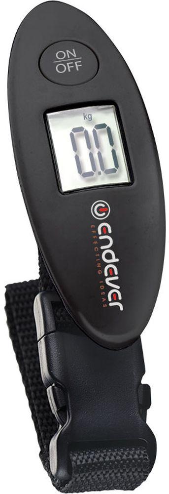Endever LS-566 багажные весыLS-566Электронные багажные весы Endever LS-566 выполнены из пластика и предназначены для измерения веса багажа. Такая вещь пригодится путешественникам, которые желают всегда держать под контролем вес своего багажа и не переплачивать за перевес.Модель также обладает такими полезными особенностями, как хорошо читаемый LED-дисплей, на который крупными цифрами выводится информация о весе, удобная ручка, функция обнуления веса, индикация слабого заряда батареи и автовыключение.