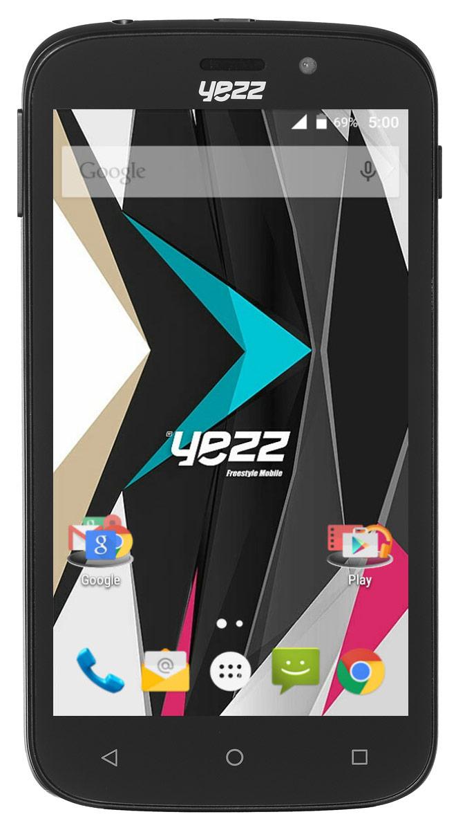 Yezz Andy 5EI3, BlackANDY 5EI3 3G DS BlackБюджетный Android-смартфон Yezz Andy 5EI3 порадует, в первую очередь, высоким качеством исполнения и оптимальным набором функций для современного пользователя.5-дюймовый TFT экран обеспечивает качественное изображение при любых условиях. Благодаря мощному двухъядерному процессору MediaTek MT6572M с частотой 1 ГГц и 512 МБ оперативной памяти ресурсоемкие игры и приложения, онлайн фильмы, браузинг и многозадачность доступны вам в любое время. Храните свои фото, видео и приложения на 4 ГБ внутренней памяти - этого вполне достаточно для большого количества файлов. Если вам понадобится больше места - просто расширьте память с помощью SD карты объемом до 64 ГБ.Используйте преимущества основной камеры с разрешением 5 Мпикс для создания качественных видео или делайте селфи с помощью 1,3-мегапиксельной фронтальной камеры. Yezz Andy 5EI3 имеет два слота для SIM-карт - используйте две карты для интернета и звонков или оставайтесь на связи с друзьями независимо от их мобильного оператора. Телефон сертифицирован EAC и имеет русифицированный интерфейс меню и Руководство пользователя.