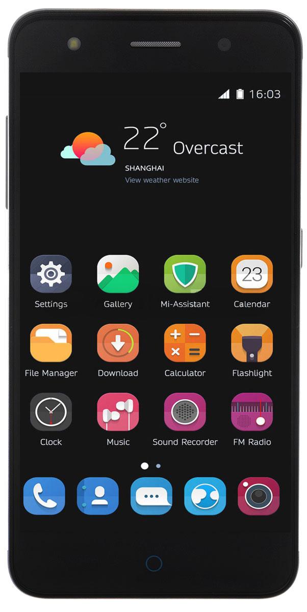 ZTE Blade V7 Lite, GreyZTE BLADE V7 LITE 4G GREYZTE Blade V7 Lite - стильный и недорогой смартфон с большим экраном 5, сканером отпечатков пальцев и двумя SIM-картами.Благодаря четырехъядерному процессору MediaTek MT6735P с тактовой частотой 1 ГГц смартфон работает чрезвычайно шустро. Пользователю обеспечены быстрый запуск и уверенная работа практически любых приложений, а также плавное воспроизведение видео.Смартфон имеет 5-дюймовый дисплей с разрешением 1280х720 пикселей. Он достаточно яркий, не вынуждает владельца напрягать глаза, обеспечивает четкое, разборчивое изображение и экономно расходует энергию аккумулятора.ZTE Blade V7 Lite оснащен двумя камерами - основной и фронтальной. Основная предназначена для фото- и видеосъемки, для этого у нее есть 13-мегапиксельная матрица, автофокус и светодиодная вспышка, благодаря чему владелец может снимать фото и видео, которыми не стыдно поделиться с окружающими. Фронтальная 8-мегапиксельная камера предназначена для видеосвязи, также с ее помощью можно снимать яркие и необычные селфи.Телефон сертифицирован EAC и имеет русифицированный интерфейс меню, а также Руководство пользователя.