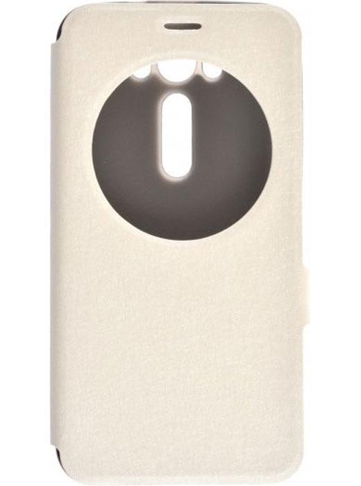Prime Book AW чехол для Asus Zenfone Laser 2 ZE500KL/ZE500KG, White2000000083667Чехол Prime Book AW для Asus Zenfone Laser 2 ZE500KL/ZE500KG выполнен из высококачественного поликарбоната и экокожи. Он обеспечивает надежную защиту корпуса и экрана смартфона и надолго сохраняет его привлекательный внешний вид. Чехол также обеспечивает свободный доступ ко всем разъемам и клавишам устройства.
