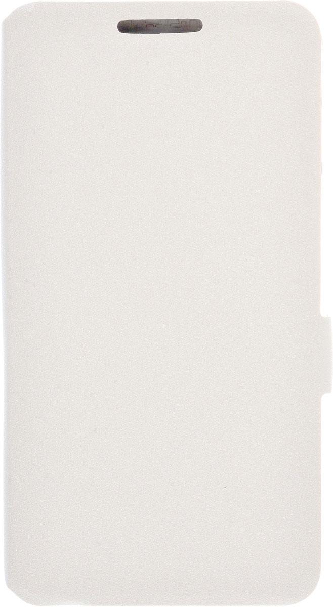 Prime Book чехол для Alcatel OneTouch 5025D POP 3, White2000000083896Чехол Prime Book для Alcatel OneTouch Pop 3 (5025D) выполнен из высококачественного поликарбоната и экокожи. Он обеспечивает надежную защиту корпуса и экрана смартфона и надолго сохраняет его привлекательный внешний вид. Чехол также обеспечивает свободный доступ ко всем разъемам и клавишам устройства.