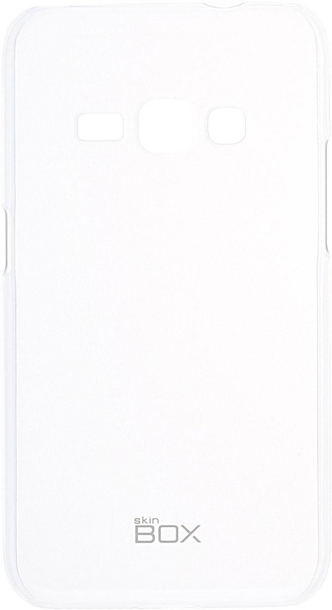 Skinbox 4People Crystal чехол для Samsung Galaxy J1 (2016), Transparent2000000091716Чехол Skinbox 4People Crystal для Samsung Galaxy J1 (2016) бережно и надежно защитит ваш смартфон от пыли, грязи, царапин и других повреждений. Выполнен из высококачественных материалов, плотно прилегает и не скользит в руках. Чехол оставляет свободным доступ ко всем разъемам и кнопкам устройства.