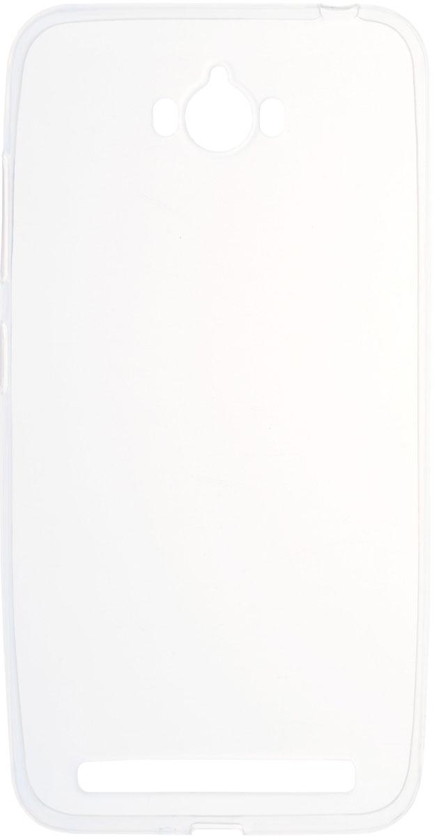 Skinbox 4People Slim Silicone чехол для Asus Zenfone Max ZC550KL, Transparent2000000087313Чехол-накладка Skinbox 4People Slim Silicone для Asus Zenfone Max ZC550KL обеспечивает надежную защиту корпуса смартфона от механических повреждений и надолго сохраняет его привлекательный внешний вид. Накладка выполнена из высококачественного силикона, плотно прилегает и не скользит в руках. Чехол также обеспечивает свободный доступ ко всем разъемам и клавишам устройства.