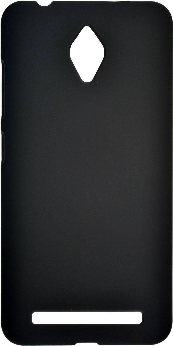 Skinbox 4People чехол для Asus ZenFone Go (ZC451TG), Black2000000085050Чехол-накладка Skinbox 4People для Asus ZenFone Go (ZC451TG) бережно и надежно защитит ваш смартфон от пыли, грязи, царапин и других повреждений. Выполнен из высококачественного поликарбоната, плотно прилегает и не скользит в руках. Чехол-накладка оставляет свободным доступ ко всем разъемам и кнопкам устройства.