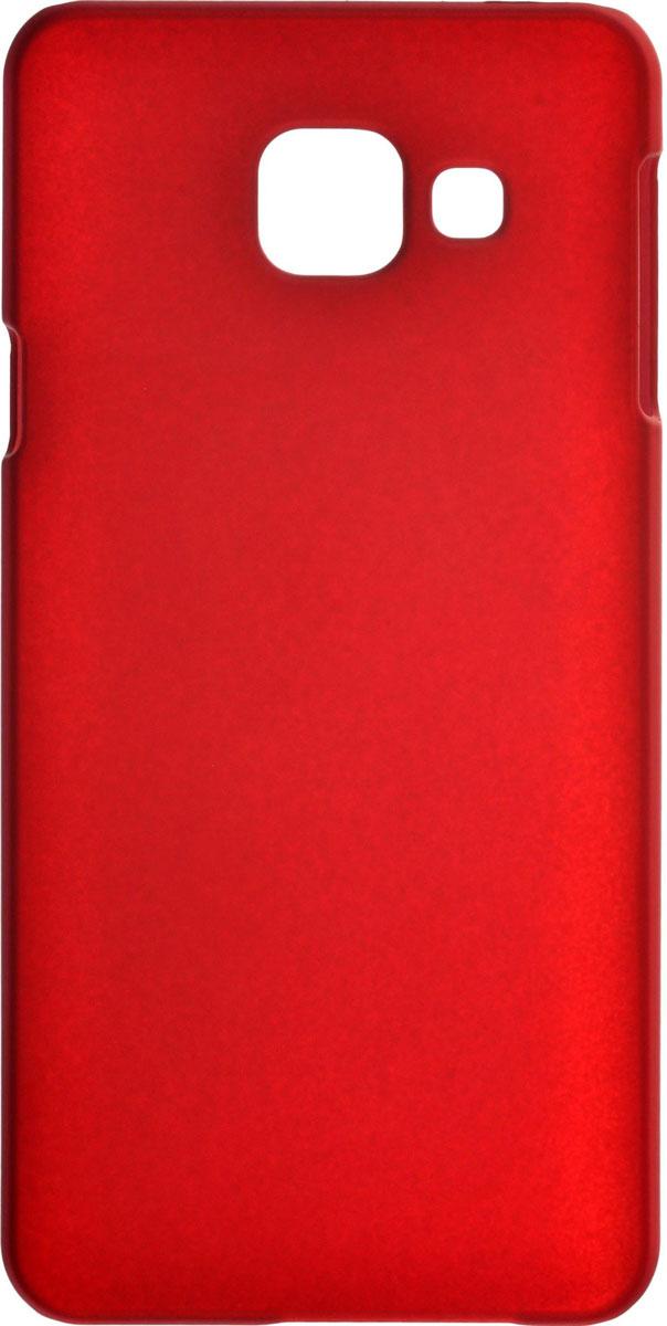 Skinbox 4People чехол для Samsung Galaxy A3 (2016), Red2000000088761Чехол-накладка Skinbox 4People для Samsung Galaxy A3 (2016) бережно и надежно защитит ваш смартфон от пыли, грязи, царапин и других повреждений. Выполнен из высококачественного поликарбоната, плотно прилегает и не скользит в руках. Чехол-накладка оставляет свободным доступ ко всем разъемам и кнопкам устройства.