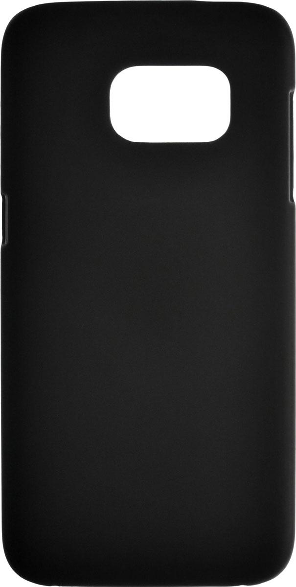 Skinbox Shield 4People чехол для Samsung Galaxy S7, Black2000000089331Чехол-накладка Skinbox Shield 4People для Samsung Galaxy S7 бережно и надежно защитит ваш смартфон от пыли, грязи, царапин и других повреждений. Выполнена из высококачественного поликарбоната, плотно прилегает и не скользит в руках. Чехол-накладка оставляет свободным доступ ко всем разъемам и кнопкам устройства.