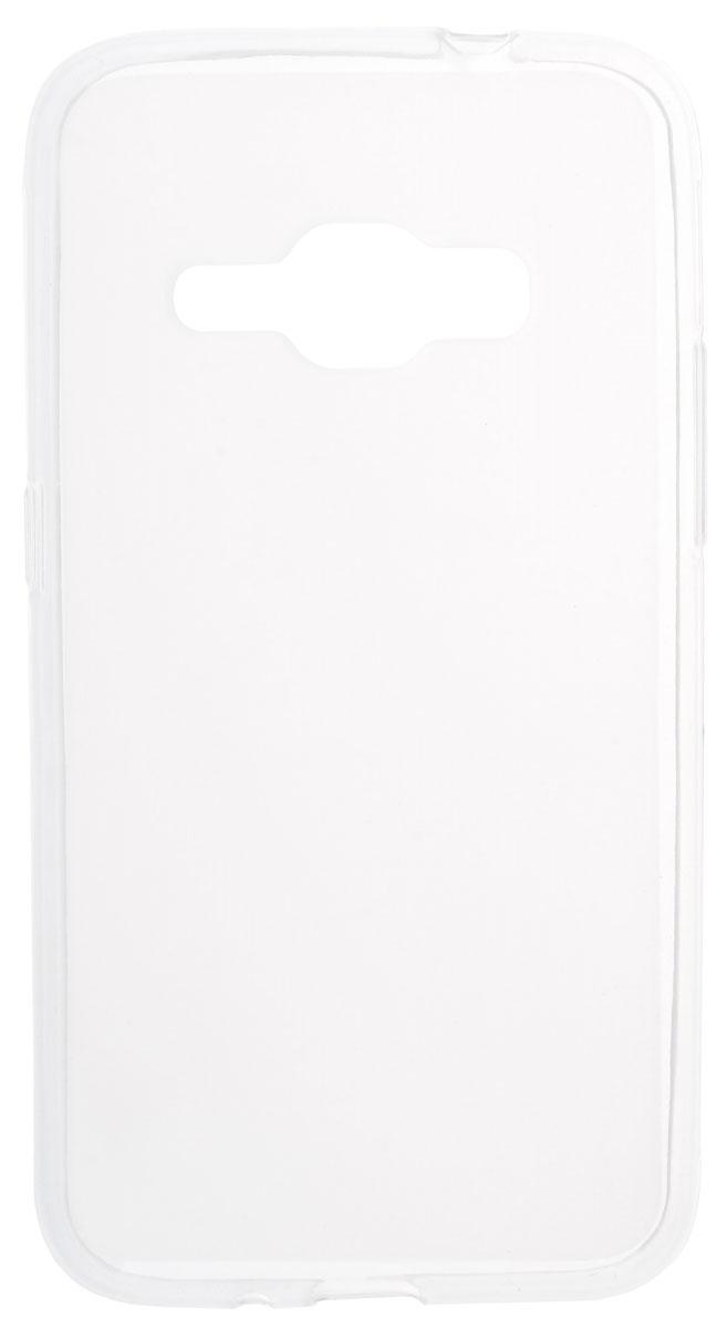 Skinbox Shield Silicone чехол для Samsung Galaxy J1 (2016), Transparent2000000090832Чехол-накладка Skinbox Shield Silicone для Samsung Galaxy J1 (2016) обеспечивает надежную защиту корпуса смартфона от механических повреждений и надолго сохраняет его привлекательный внешний вид. Накладка выполнена из высококачественного материала, плотно прилегает и не скользит в руках. Чехол также обеспечивает свободный доступ ко всем разъемам и клавишам устройства.