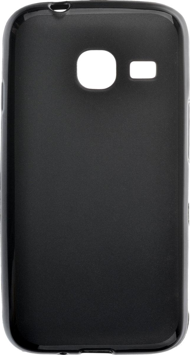Skinbox Shield Silicone чехол для Samsung Galaxy J1 mini (2016), Black2000000091785Чехол-накладка Skinbox Shield Silicone для Samsung Galaxy J1 mini (2016) обеспечивает надежную защиту корпуса смартфона от механических повреждений и надолго сохраняет его привлекательный внешний вид. Накладка выполнена из высококачественного материала, плотно прилегает и не скользит в руках. Чехол также обеспечивает свободный доступ ко всем разъемам и клавишам устройства.