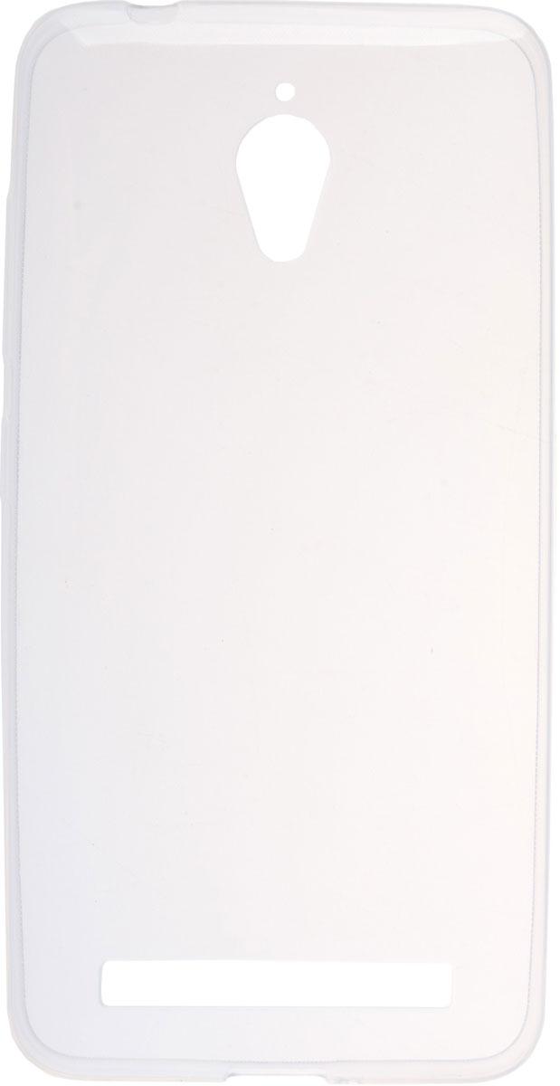 Skinbox Slim Silicone чехол для Asus Zenfone Go ZC500TG, Transparent2000000085364Чехол-накладка Skinbox Slim Silicone для Asus Zenfone Go ZC500TG обеспечивает надежную защиту корпуса смартфона от механических повреждений и надолго сохраняет его привлекательный внешний вид. Накладка выполнена из высококачественного материала, плотно прилегает и не скользит в руках. Чехол также обеспечивает свободный доступ ко всем разъемам и клавишам устройства.