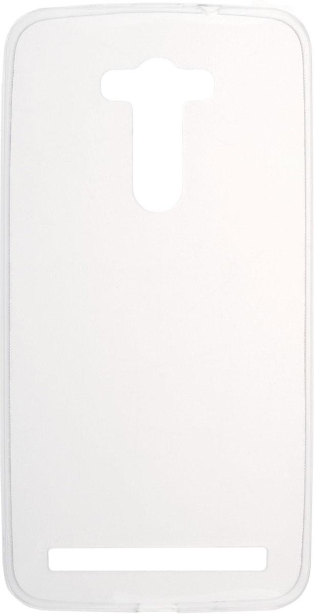 Skinbox Slim Silicone чехол для Asus Zenfone 2 Laser ZE550KL, Transparent skinbox кейс книжка для asus zenfone laser 2 ze550kl