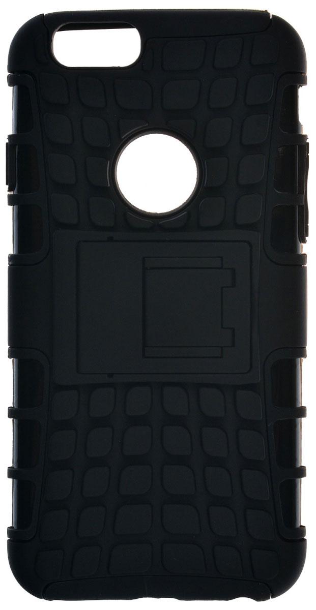 Skinbox Defender Case чехол для Apple iPhone 6/6s, Black2000000091372Чехол-накладка Skinbox Defender Case для Apple Iphone 6/6S бережно и надежно защитит ваш смартфон от пыли, грязи, царапин и других повреждений. Выполнена из высококачественного поликарбоната, плотно прилегает и не скользит в руках. Чехол-накладка оставляет свободным доступ ко всем разъемам и кнопкам устройства.