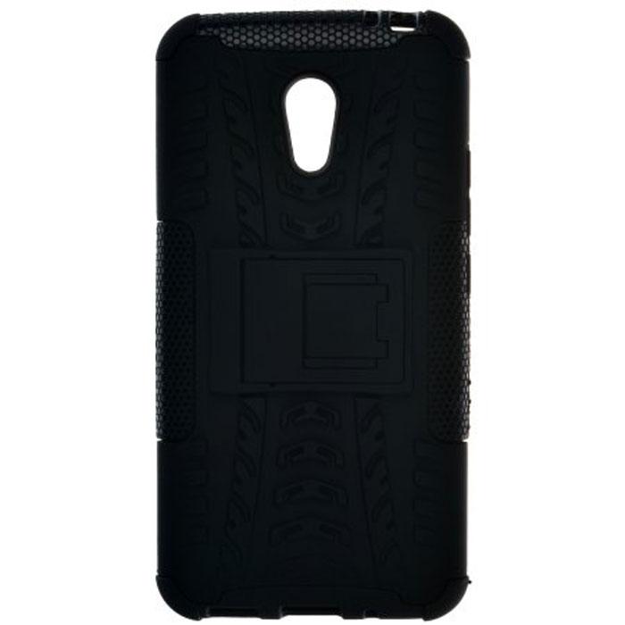 Skinbox Defender Case чехол для Meizu M2 Note, Black2000000091365Чехол-накладка Skinbox Defender Case для Meizu M2 Note бережно и надежно защитит ваш смартфон от пыли, грязи, царапин и других повреждений. Выполнена из высококачественного поликарбоната, плотно прилегает и не скользит в руках. Чехол-накладка оставляет свободным доступ ко всем разъемам и кнопкам устройства.