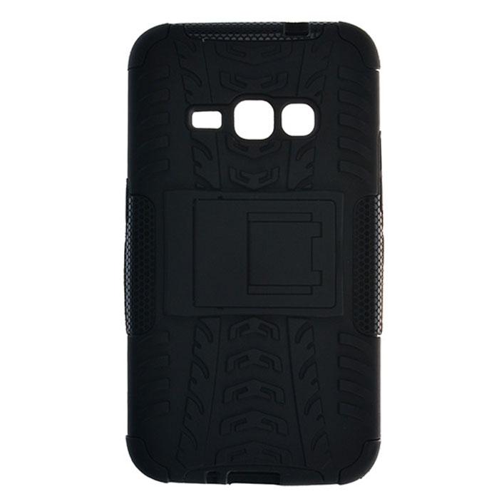 Skinbox Defender Case чехол для Samsung Galaxy J5 (2016), Black2000000092287Чехол-накладка Skinbox Defender Case для Samsung Galaxy J5 (2016) бережно и надежно защитит ваш смартфон от пыли, грязи, царапин и других повреждений. Выполнена из высококачественного поликарбоната, плотно прилегает и не скользит в руках. Чехол-накладка оставляет свободным доступ ко всем разъемам и кнопкам устройства.