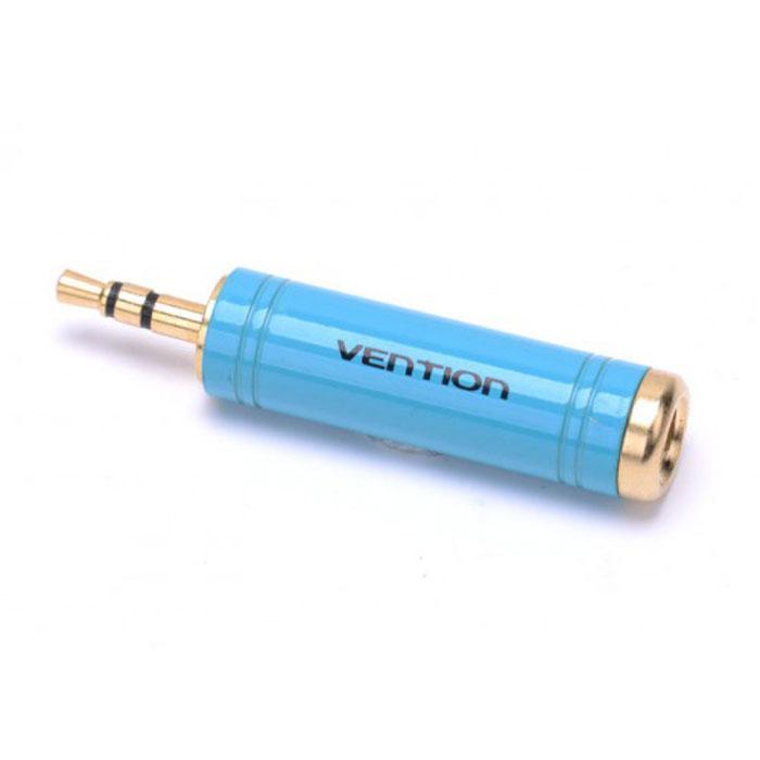 Vention Jack 3.5 мм/6.35 мм переходникVAB-S04-LVention Jack 3.5 mm-6.35 mm - переходник, предназначенный для передачи аналоговых стереозвуковых сигналов из одного разъема в другой - между аудио-, звукозаписывающими, студийными устройствами, или их компонентами.Продукция соответствует следующим сертификатам: RoHS, CE, FCC, TIA, ISO.Рабочая температура: -40°C - 60°CНоминальный ток: AC - 5 A / 500 В; DC - 5 A / 250 ВВыдерживает напряжение: 1000 В rmsИнтерфейс: стерео