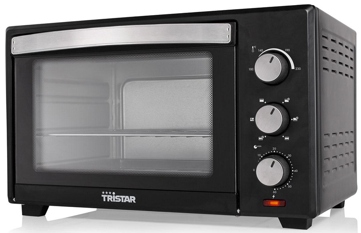Tristar OV-1440, Black минипечьOV-1440Мини-печь Tristar OV-1440 обладает объемом 28 литров и мощностью 1600 Вт. Этот компактный прибор пригодится на любой кухне. Выпекайте любимые пироги и блюда с комфортом. Внутренняя поверхность имеет долговечное стойкое покрытие. Таймер с сигналом на 60 минут позволит рассчитать точное время приготовления блюд.Регулировка температуры 100 - 230° CПротивень: 30 х 35,5 см