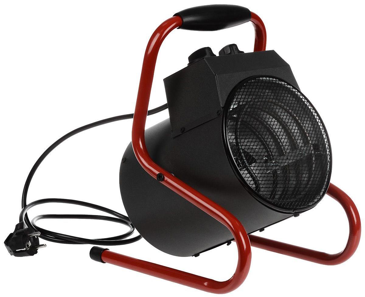 Neoclima ТПК-2, Black Red тепловая пушкаТПК-2_черный, красныйЭлектрическая тепловая пушка Neoclima ТПК-2 - мощный профессиональный тепловентилятор предназначенный для быстрого и интенсивного нагрева воздуха в помещениях. Основная область применения - обогревнеотапливаемых помещений и помещений с недостаточной мощностью отопления, резкое повышение температуры в помещении, что требуется например при монтаже натяжных потолков, штукатурных и прочих строительных работах.Из преимуществ тепловой пушки Neoclima стоит выделить направленный поток горячего воздуха и изменяемый угол наклона корпуса, ТЭН из углеродистой стали с ресурсом более 25 тысяч часов, ступенчатое переключение мощности и электродвигатель имеющий ресурс не менее 40 тысяч часов.2 режима работы: 1000/2000 ВтНагревательный элемент: ТЭНПродолжительность непрерывной работы: не более 22 часов