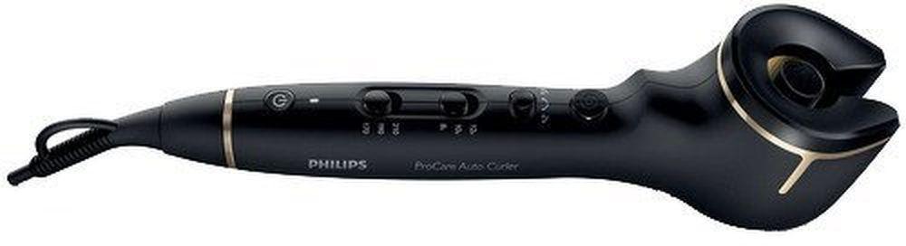 Philips HPS940/10, Black щипцы для укладки волосHPS940/10Щипцы для завивки Philips ProCare Auto (HPS940/10) позволяют создавать превосходные локоны. Благодаря профессиональному бесщеточному мотору прядь волос автоматически накручивается на титаново-керамический нагревательный корпус, нагревается и завивается — всегда идеальные локоныНадежный профессиональный бесщеточный мотор позволяет изменять направление завивки. Создавайте идеальные симметричные локоны, закрученные вправо или влево. Вы также можете использовать функцию автоматической завивки в двух направлениях для максимально естественного образа.Профессиональный вращающийся титаново-керамический корпус для быстрой завивки, гладких и блестящих волос. Титаново-керамическое покрытие корпуса равномерно распределяет тепло и создает превосходные локоны благодаря идеально гладкой поверхности.3 настройки температуры (170/190/210 °C) и 3 настройки времени (12/10/8 сек) позволяют создавать естественные свободные или упругие локоны. Для великолепной укладки нужно лишь выбрать температуру, подходящую для вашего типа волос, и изменить настройки скорости.Эргономичный дизайн щипцов для завивки Philips ProCare Auto позволяет с легкостью создавать идеальные симметричные локоны — даже на затылке.Уникальная теплоизолирующая камера для локонов предотвращает получение ожогов во время укладки. Щипцы для завивки Philips ProCare Auto обеспечивают безопасность использования, в отличие от обычных щипцов.Шнур длиной 2 м, как у профессиональных щипцов для салона красоты, обеспечивает свободу движений и удобство использования. Создавайте любые образы с помощью щипцов для завивки Philips ProCare Auto, не беспокоясь о длине шнура.