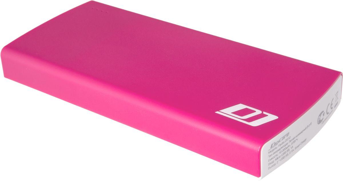 DigiCare Hydra DS10, Red White внешний аккумулятор (10000 мАч)PB-HDS10pВнешний аккумулятор DigiCare Hydra DS10 подойдет для зарядки практически всех мобильных устройств – смартфонов и планшетов, плееров и цифровых камер. Небольшие габариты и яркий дизайн. Высокая емкость.Как и во всех аккумуляторах DigiCare серии Hydra, в модели DS10 реализована функция Smart Charge -аккумулятор сам определяет подключенное к нему устройство и обеспечивает максимальный ток зарядки. Больше не будет странных ситуаций, когда аккумулятор с гордой надписью 2.4А отдает вашему устройству меньше одного ампера.