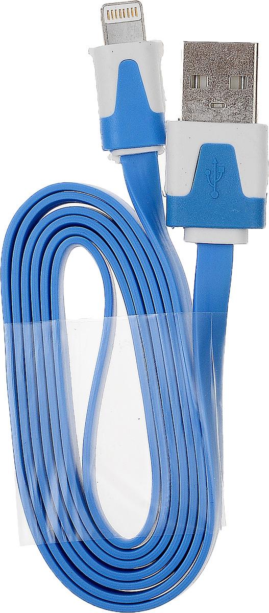 OLTO ACCZ-5015, Blue кабель USBO00000254Кабель OLTO ACCZ-5015 для соединения устройств разъемом Apple Lightning c USB-портом. Он может использоваться для передачи данных, зарядки аккумулятора и адаптирован для работы со всеми операционными системами. Главное достоинство OLTO ACCZ-5015 в его внешнем виде. Он выгодно отличается от привычных и скучных расцветок стандартных кабелей.