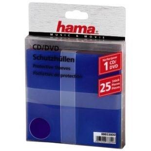 Конверты для CD/DVD Hama H-51066 (25 шт)