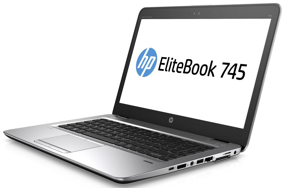 HP EliteBook 745 G3, Silver Black Metal (T4H58EA)T4H58EAОткройте для себя возможности тонкого, легкого и недорогого ноутбука HP EliteBook 745. Его мощные средства для совместной работы и связи помогут в решении важных задач и обеспечат развитие бизнеса. Идеальное решение для мобильной работы, которое обеспечивает максимальную надежность, высокую производительность и мощные средства работы с графикой в управляемых ИТ-средах по сравнению с другими устройствами своего класса. Ультратонкий корпус ноутбука оснащен всеми необходимыми разъемами, благодаря чему вам больше не понадобятся дополнительные переходники. Используйте передовую технологию автоматического восстановления BIOS, HP Sure Start, для защиты устройства от атак. Используйте средства управления HP Touchpoint Manage и DASH для мониторинга работы ноутбука.Забудьте о стационарных телефонах: ноутбук HP EliteBook 745 с аудиосистемой Bang & Olufsen обеспечивает высокое качество звука для таких приложений, как Skype для бизнеса.Служба HP Sure Start обнаруживает атаки на систему BIOS и в случае ее повреждения выполняет автоматическое восстановление.Изображение на экране словно оживает благодаря технологии AMD Vivid Color, которая обеспечивает яркие и насыщенные цвета.Ноутбук поставляется с предустановленной ОС Windows 7 Профессиональная, а также с лицензией и носителями для ОС Windows 10 Профессиональная. Одновременно можно использовать только одну версию операционной системы Windows. Чтобы использовать другую версию, необходимо удалить текущую версию и установить новую. Перед удалением и установкой операционной системы сохраните все нужные вам данные (файлы, фотографии и т. д.).Точные характеристики зависят от модификации.Ноутбук сертифицирован EAC и имеет русифицированную клавиатуру и Руководство пользователя.