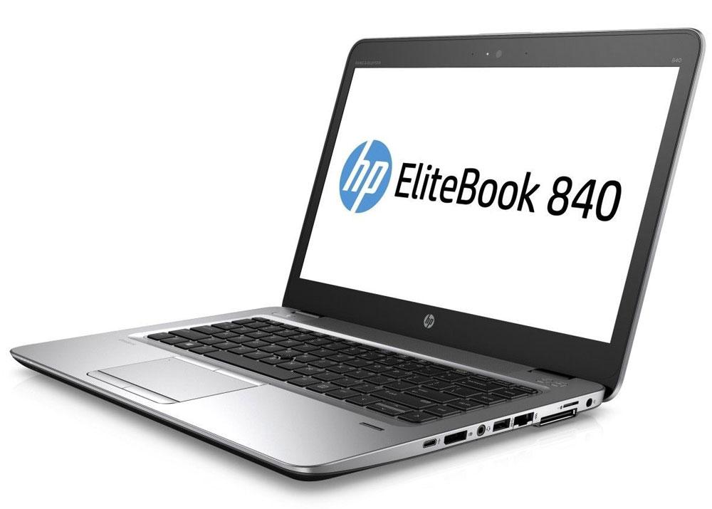HP EliteBook 840 G3, Silver Black Metal (T9X27EA)T9X27EAНевероятно тонкий и легкий ноутбук HP EliteBook 840 G3 обеспечивает производительность корпоративного уровня. Это отличное решение для творчества, общения и совместной работы как в офисе, так и за его пределами.Идеальное решение для мобильной работы, которое обеспечивает максимальную надежность, высокую производительность и мощные средства работы с графикой в управляемых ИТ-средах по сравнению с другими устройствами своего класса.Мобильная мощностьЭтот мощный ноутбук на базе ОС Windows 7 Pro оснащен аккумулятором повышенной емкости, процессором Intel, оперативной памятью DDR4 и твердотельным накопителем для эффективной работы с ресурсоемкими бизнес-приложениями и быстрого доступа к данным.Тонкий корпус со всеми необходимыми разъемамиВ корпусе ноутбука HP EliteBook 840 G3 есть все необходимые разъемы, так что вам больше не придется беспокоиться о переходниках. Ультратонкий и легкий ноутбук толщиной всего 18,9 мм обладает разъемами VGA, DisplayPort, RJ-45, USB, USB-C, а также поддерживает подключение док-станций.Высокий уровень безопасности и мощные средства управленияHP Sure Start with Dynamic Protection - первая на рынке технология автоматического восстановления BIOS, которая проверяет состояние BIOS каждые 15 минут и при необходимости выполняет автоматическое восстановление. Она обеспечивает надежную защиту устройства благодаря функциям обнаружения угроз и восстановления после атак вредоносного ПО.Создан для совместной работыЗабудьте о стационарных телефонах: ноутбук HP EliteBook 840 G3 с аудиосистемой Bang & Olufsen и ПО подавления шума HP Noise Reduction обеспечивает высокое качество звука для таких приложений, как Skype для бизнеса.Вам ничто не должно мешатьКлавиатура HP Premium создана для максимально комфортной и эффективной работы. Этот ноутбук сочетает в себе скорость и вместительность, так что вам не придется использовать внешние устройства хранения. Подходит для использования вне офисаНоутбук HP Elite
