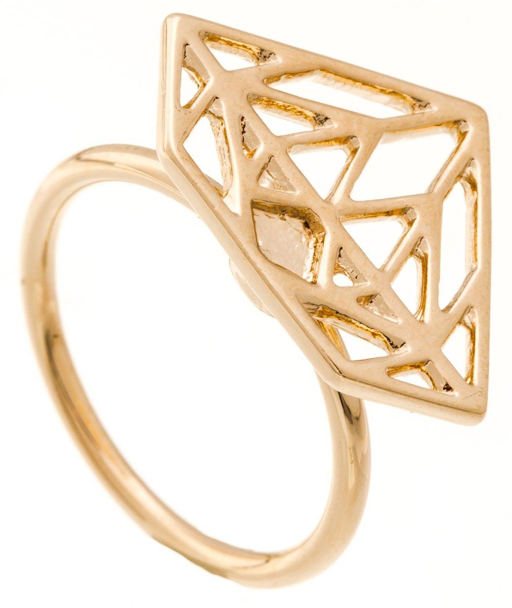 Кольцо Jenavi Young 2. Эпик, цвет: золотой. f661p090. Размер 16Коктейльное кольцоИзящное кольцо Jenavi из коллекции Young 2. Эпик изготовлено из ювелирного сплава с покрытием из позолоты. Изделие выполнено в необычном дизайне в форме треугольника. Стильное кольцо придаст вашему образу изюминку, подчеркнет индивидуальность.