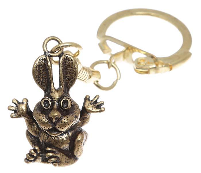 Брелок для ключей Зайчонок. Латунь. Россия, Калининград1178003Брелок для ключей Зайчонок.Янтарь (прессованная янтарная крошка), латунь.Россия, Калининград.Размер - 5 х 2,5 см.Изделие оснащено кольцом для ключей.Изящный брелок порадует вас необычным дизайном и функциональностью, а также станет приятным подарком к любому празднику!