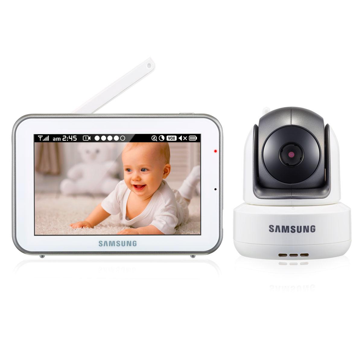 Samsung Видеоняня SEW-3043WP -  Радио и видеоняни