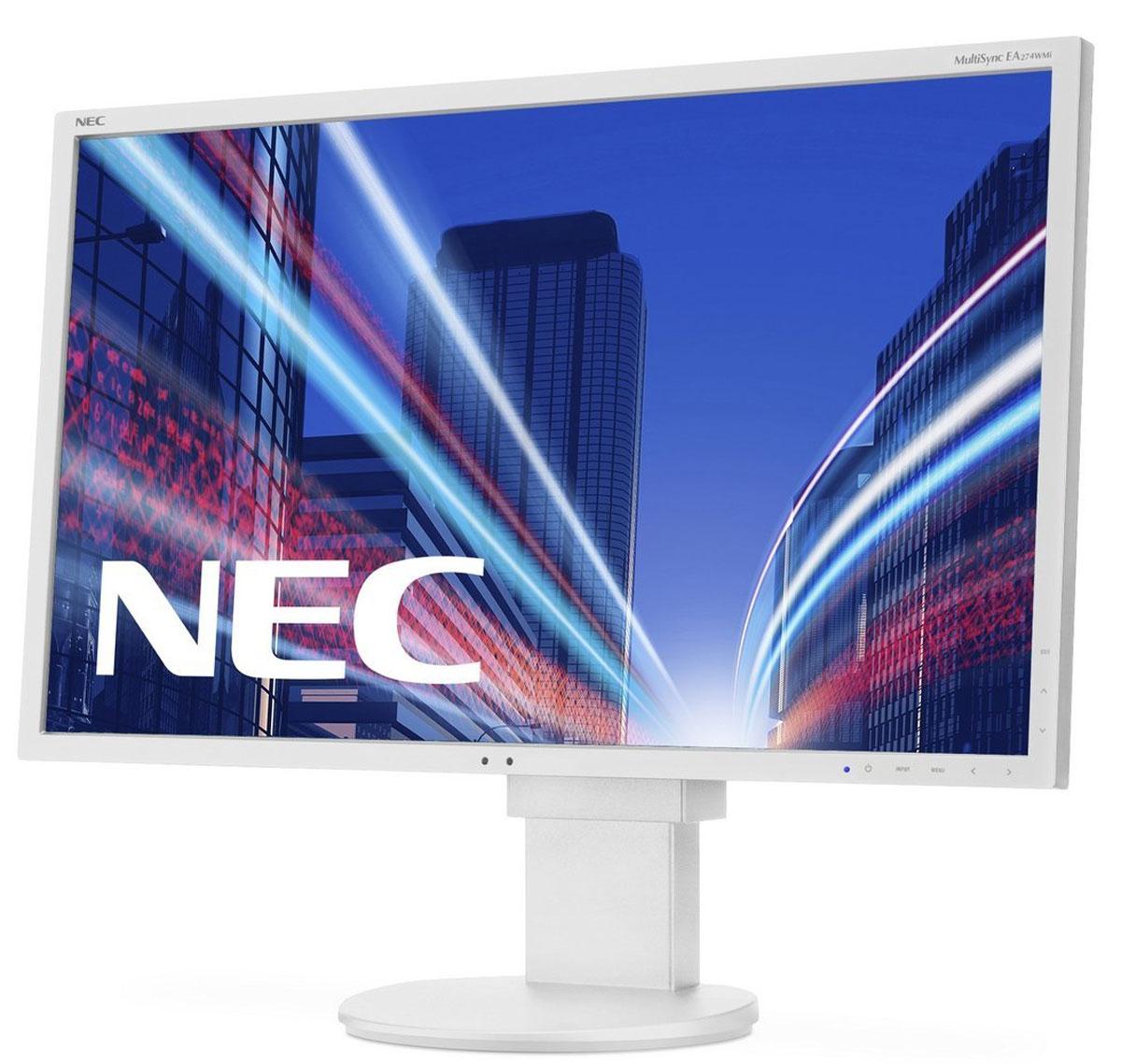 NEC E203Wi, White мониторE203WiNEC E203Wi - это экономичный 20 монитор формата 16:9. Он располагает светодиодной фоновой подсветкой, возможностью подключения через DisplayPort, а также возможностью полной регулировки. Благодаря низкому энергопотреблению и низким эксплуатационным расходам этот дисплей является идеальным решением для эксплуатации в профессиональных офисных условиях. Отличные эргономические характеристики, а также интеллектуальные свойства, например, датчик рассеянного света, обеспечивают удобство в обращении и позволяют повысить производительность. Идеальное решение для стандартной эксплуатации в офисах крупного и среднего бизнеса с учетом экологического фактора!