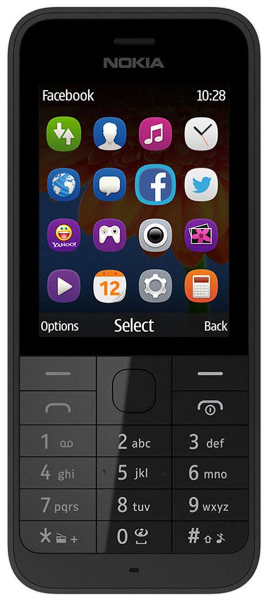 Nokia 230 SS, Dark Silver GrayA00026973Nokia 230 - это изящный телефон с функцией съемки автопортретов, сочетающий в себя фронтальную камеру 2 Мпикс со светодиодной вспышкой и матовую алюминиевую заднюю панель, которая элегантно облегает телефон.Благодаря фронтальной камере 2 Мпикс и специальной клавише для включения режима селфи, Nokia 230 готов к съемке веселых моментов вашей жизни. Рядом с фронтальной камерой расположена светодиодная вспышка, позволяющая делать автопортреты вечером и ночью, а с помощью популярных приложений для соцсетей, например Facebook и Twitter, вы сможете легко поделиться своими фото с другими.Прочный корпус из поликарбоната, алюминиевая задняя панель с матовым покрытием и тонкий профиль - Nokia 230 идеально сочетает в себе утонченный дизайн и непревзойденное качество сборки.Экран с диагональю 2,8 дюйма идеально подходит для съемки и демонстрации фотографий, проведения времени за играми и воспроизведения потокового видео. С помощью браузера Opera Mini, поисковой системы Bing и приложения MSN Погода вы быстро найдете полезную информацию и любимые сайты.Nokia 230 оснащается встроенной вспышкой и FM-радио. Каждый месяц на протяжении года вы можете загружать по одной игре Gameloft бесплатно, а с учетом разнообразия приложений, предлагаемых магазином Opera, вы получаете фантастические возможности по умеренной цене.Телефон сертифицирован EAC и имеет русифицированную клавиатуру, меню и Руководство пользователя.