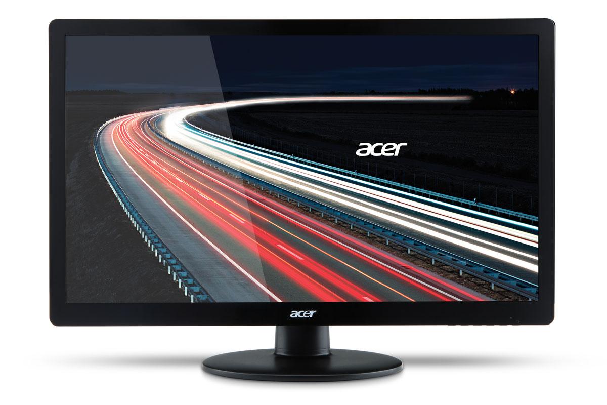 Acer S230HLBb, Black мониторS230HLBbЭлегантный дизайн позволяет монитору Acer S230HLBb вписаться в любой интерьер. А привлекательные продуманные до мелочей детали сделают ваш рабочий стол более стильным.Наслаждайтесь работая и и просматривая мультимедиа с высокой детализацией и плавными переходами благодаря поддержке высокого разрешения, малому времени отклика и потрясающему коэффициенту контрастности. Acer eColor Management позволяет настроить дисплей в соответствии с вашими предпочтениями. Игры становятся более захватывающими, а фильмы воспроизводятся в кинематографическом качестве благодаря высокой яркости красок.Монитор Acer S230HLBb безопасен как для пользователей, так и для окружающей среды благодаря соответствию стандарту RoHS, использованию без ртутной белой светодиодной подсветки и наличию маркировки ENERGY STAR. Технологии Acer EcoDisplay позволяют сократить энергопотребление на 68%, что дает возможность еще больше снизить расходы на энергоснабжение. Кроме того, упаковка Acer произведена из вторсырья.