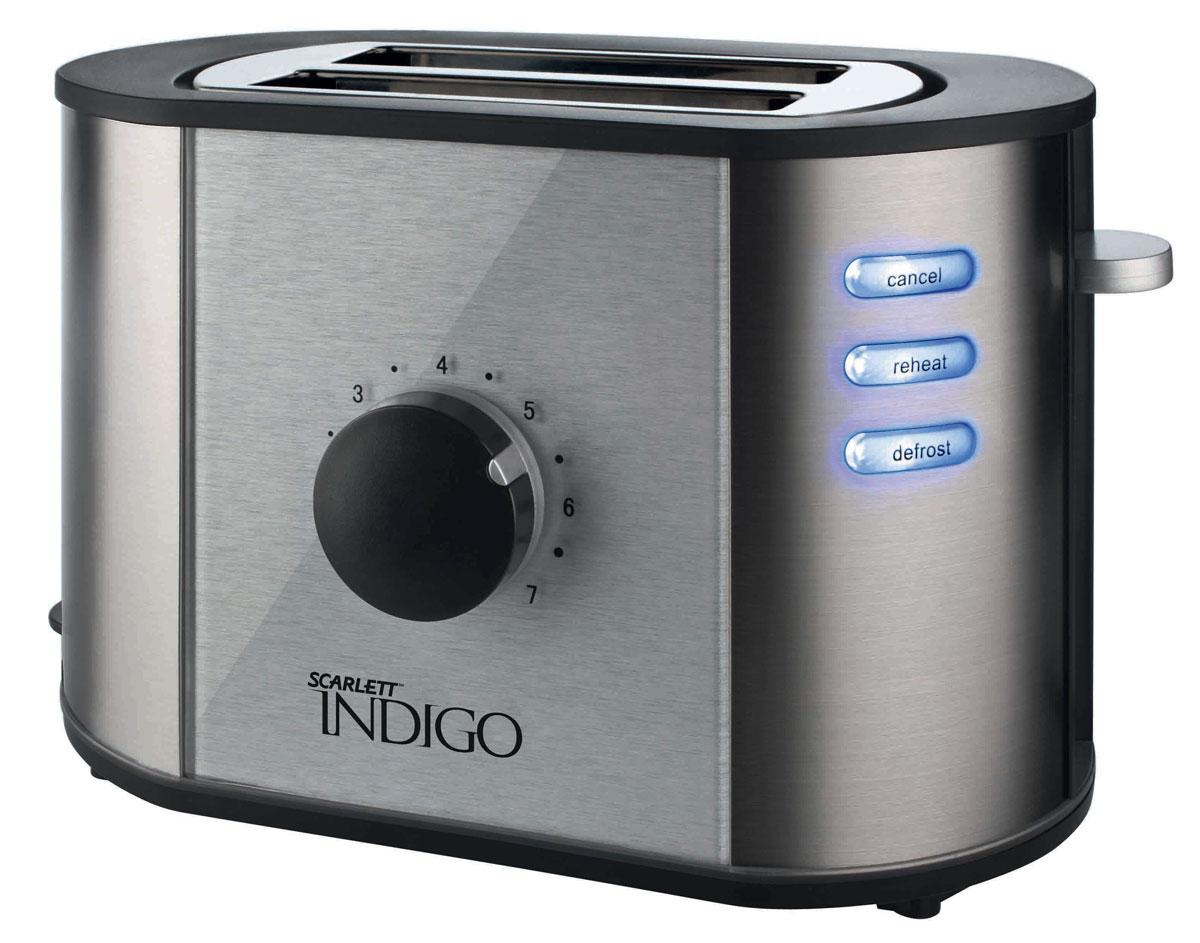 Scarlett IS-TM12501 тостерIS-TM12501Тостер Scarlett IS-TM12501 идеально подходит для поджаривания хлеба на завтрак или на закуску. Он имеет семипозиционный таймер приготовления, что позволяет настроить желаемую степень поджаривания. Поддон для крошек является съемным, что облегчает чистку тостера.