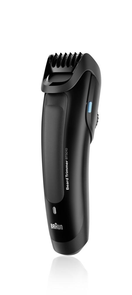 Braun BT 5010, Black триммер для бороды81517346Триммер для бороды Braun BT 5010 позволяет получить идеально выверенную длину и точные контуры — два необходимых условия любого отличного образа. Вне зависимости от того, хотите вы получить стильную щетину или подровнять бороду, съемная насадка-триммер обеспечит все необходимое.