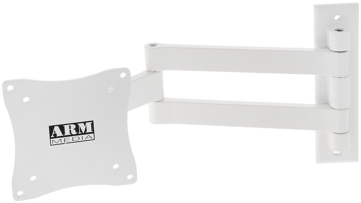 Arm Media LCD-7101, White кронштейн для ТВ