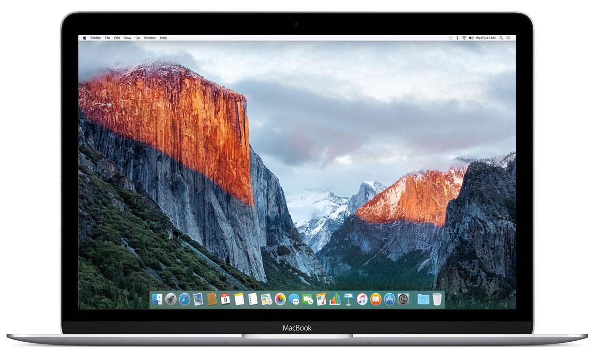 Apple MacBook 12, Silver (MLHA2RU/A)MLHA2RU/AApple MacBook 12 - стильный и инновационный ноутбук будущего. Это легкий и ультратонкий мобильный компьютер с длительным сроком автономной работы и цельным дизайном.Клавиатура обновлена от А до Я.Каждый компонент клавиатуры был спроектирован специально для нового MacBook: основной механизм, форма изгиба клавиш и даже новый уникальный шрифт. В результате клавиатура стала гораздо тоньше, чем все предыдущие. Теперь, когда вы нажимаете на клавишу, она чётко опускается и поднимается без малейших задержек - и ваш текст набирается быстрее и точнее. Новый механизм бабочка представляет собой цельный элемент, изготовленный из более жёстких материалов, с большей площадью опоры. Благодаря этому клавиши стали более устойчивыми, точнее реагируют на нажатия и при этом занимают меньше места по высоте. Эта инновационная технология обеспечивает более чёткую и стабильную работу вне зависимости от того, на какую часть клавиши вы нажимаете.Для нового MacBook были созданы более тонкие клавиши с более широкой поверхностью и глубоким изгибом, чтобы палец точнее попадал в центр и нажатие получалось более естественным. На первый взгляд изменения минимальны, но работать с клавиатурой стало ощутимо проще и удобнее. А в сочетании с механизмом бабочка новая клавиатура позволяет печатать с гораздо большей точностью.Потрясающая реалистичность изображения - не единственное достоинство 12-дюймового дисплея Retina на новом MacBook. Он ещё и невероятно тонкий. На самом деле, это самый тонкий дисплей Retina, который когда-либо использовался на Mac: всего 0,88 миллиметра. Специально разработанный процесс автоматического производства позволяет выпускать стекло толщиной всего 0,5 миллиметра, которое полностью покрывает экран. Увеличенная апертура пикселей позволяет пропускать больше света, а также сократить энергопотребление подсветки LED на 30% по сравнению с дисплеями Retina на других ноутбуках Mac, сохранив тот же уровень яркости.Трекпад Force TouchВнешне но