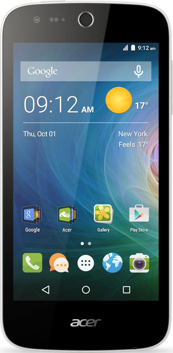Acer Liquid Z330, WhiteHM.HQ0EU.002Снимайте превосходные фото и видео смартфоном Acer Liquid Z330 с LTE. Благодаря технологии IPS все ваши фотографии и мультимедийный контент выглядят ярко и динамично на дисплее 4,5 даже при широких углах обзора. А благодаря технологии Acer BluelightShield продолжительный просмотр фото и видео не нанесет вреда зрению.Делайте превосходные снимки на основную камеру 5 мегапикселей с автофокусом. Используйте настройки экспозиции, чтобы корректировать фокус и яркость. Переключитесь на фронтальную камеру 5 мегапикселей, чтобы сделать качественное селфи. Оцените высокое качество звука технологии DTS Studio Sound. Благодаря поддержке широкого звукового диапазона вы сможете насладиться музыкой и видеороликами на смартфоне Acer Liquid Z330.Телефон сертифицирован EAC и имеет русифицированный интерфейс меню и Руководство пользователя.
