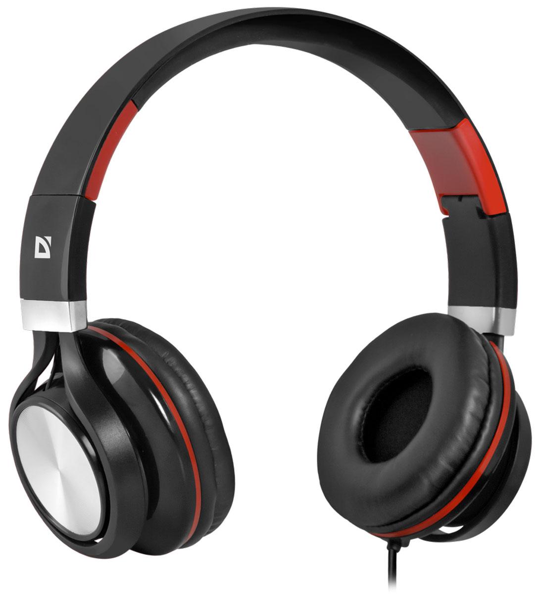 Defender Accord 175, Black Red гарнитура63175Гарнитура Defender Accord 175 предназначена для смартфонов, планшетных компьютеров, ноутбуков нового поколения, использующих комбинированный четырехпиновый разъем для наушников и микрофона. Микрофон и кнопка ответа на вызов находятся на кабеле. Комфортные амбушюры. Благодаря хорошей звукоизоляциислушайте любимую музыку и аудиокниги в дороге - ничто не будет вам мешать. С помощью адаптера для ПК, входящего в комплект, гарнитуру можно подключить к устаревшим ноутбукам и компьютерам с двумя отдельными разъемами для наушников и микрофона.Импеданс микрофона: 2.2 кОмЧувствительность микрофона: 58 дБЧастотный диапазон микрофона: 20-16000 Гц