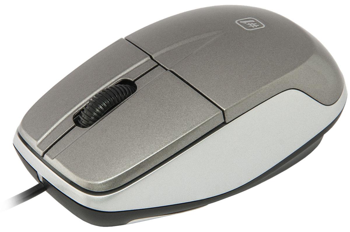 Defender №1 MS-940, Gray проводная оптическая мышь