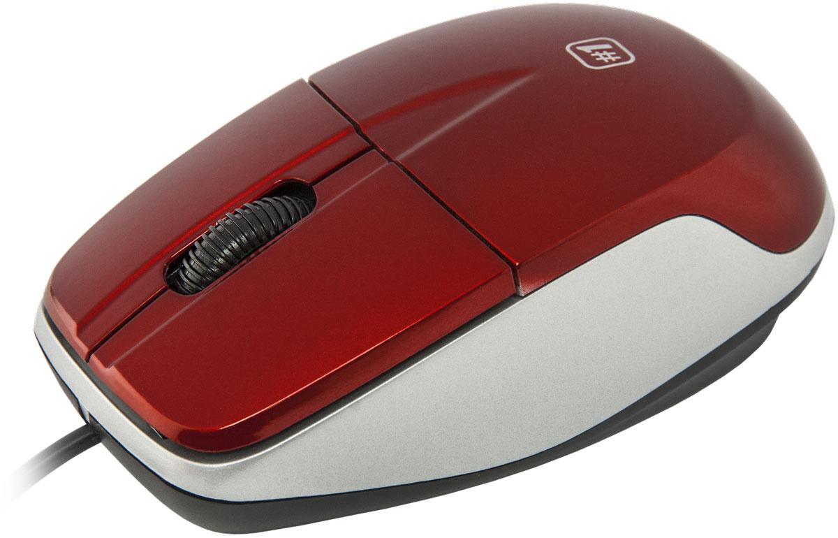 Defender №1 MS-940, Red проводная оптическая мышь52941Defender №1 MS-940 имеет износостойкое глянцевое покрытие. Устройство может работать практически на любой поверхности. Оптический сенсор имеет оптимальное разрешение, тем самым обеспечивает максимально точное позиционирование курсора. Благодаря симметричной форме эта мышка подходит как правшам, так и левшам.