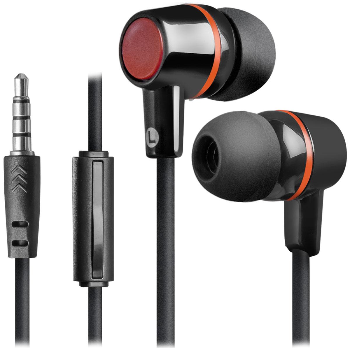 Defender Pulse 428, Black гарнитура63428Defender Pulse 428 - отличный выбор для повседневного использования, в том числе, в общественном транспорте, на улице и в шумных помещениях, благодаря хорошей звукоизоляции. Гарнитура имеет встроенный пульт и микрофон для быстрого переключения между музыкой и вызовами. Подключив её к своему смартфону или планшету вы сможете не только наслаждаться любимой музыкой, но и с легкостью ответить на звонок, не доставая гаджет.
