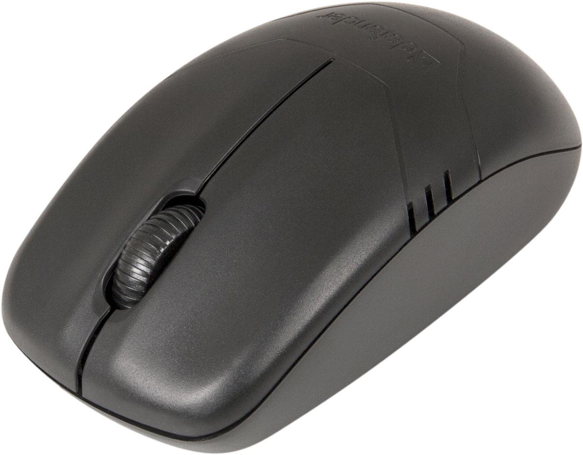 Defender Datum MM-025, Black беспроводная лазерная мышь52025Беспроводная мышь Defender Datum MM-025 непременно подойдет любому пользователю ПК. Лазерный сенсор со сменным разрешением dpi обеспечивает максимально точное позиционирование курсора. Радиус действия беспроводной связи составляет 10 метров, что обеспечивает большую свободу действий. Благодаря симметричной форме эта мышка подходит как правшам, так и левшам. Мышь автоматически выключается при завершении работы ПК или извлечении приемникаДля смены разрешения одновременно нажмите левую и правую кнопки мыши (одно нажатие - 1600 dpi, два нажатия - 800 dpi, три нажатия - 1200 dpi).