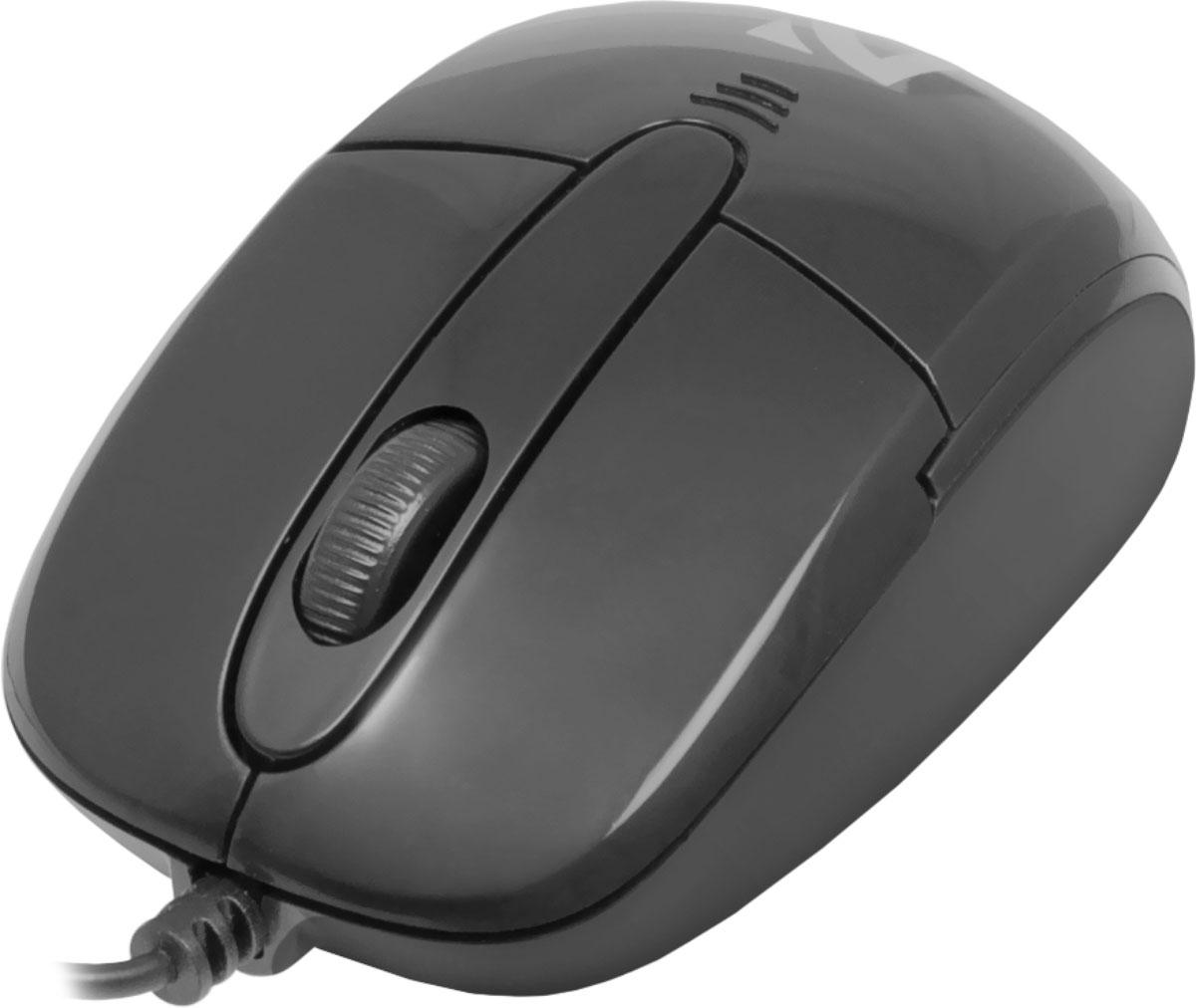 Defender Optimum MS-130, Black проводная оптическая мышь