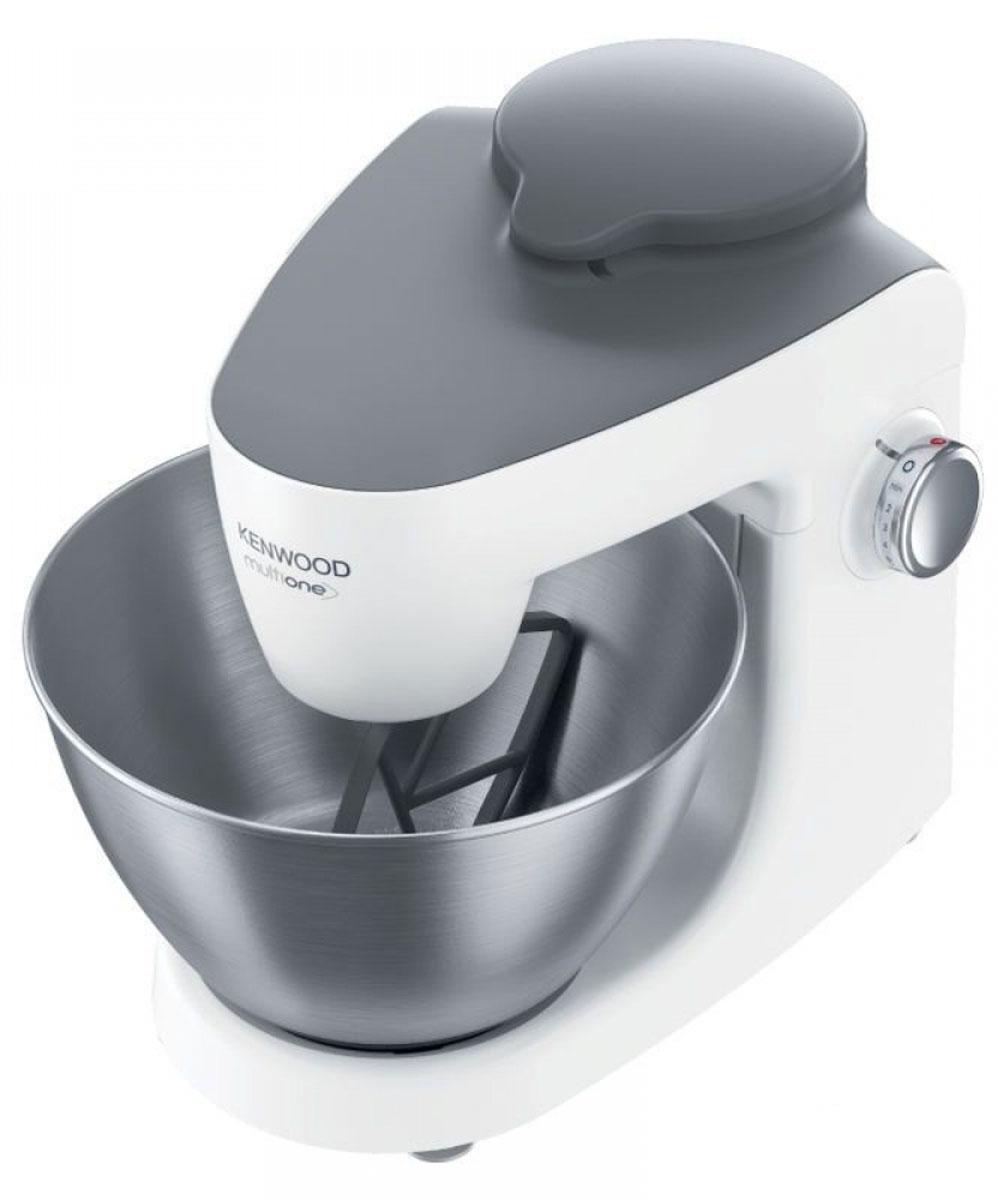 Kenwood KHH 326 кухонная машина0W20010001Кухонная машина Kenwood KHH 326 – оптимальное решение для тех, кто хочет превратить утомительное приготовление пищи в увлекательный процесс. Она имеет компактные габариты и способна собой заменить различные кухонные приборы, которые неудобно хранить и которые всегда занимают слишком много места. С помощью этого прибора вы сможете быстро приготовить вкусный обед для всей семьи, ведь машина оснащена достаточно вместительной чашей, имеющей объем 4,3 л. Кроме того, данная модель выглядит очень стильно и утонченно, она станет настоящей изюминкой вашей кухни. Купить Kenwood KHH 326 – значит приобрести замечательного помощника по кухне. Эта машина поможет вам в считанные минуты измельчить овощи для салатов или супов благодаря ножу из нержавеющей стали и трем дискам для терки, нарезки и шинковки. Венчик может превосходно взбить до 8 яичных белков. Соковыжималка обеспечит вас и вашу семью свежими соками из овощей и фруктов. Крюк поможет быстро замесить тесто для ароматной домашней выпечки - хлеба, пирогов, булочек. Насадка-мясорубка легко справится с приготовлением фарша.Управлять данной моделью несложно: на боковой панели расположен регулятор, позволяющий регулировать скорость работы прибора. Кухонная машина оснащена простой системой подъема, плавным пуском и интеллектуальной системой управления скоростью. Кроме того, есть защита от брызг, благодаря которой рабочая поверхность всегда остается чистой.Также в комплекте с прибором вы найдете К-образную насадку - фирменную насадку для кухонных машин Kenwood, форма которой повторяет знак компании. Специальная конструкция насадки позволяет достигать всех участков чаши. Эта насадка – наилучший вариант для смешивания ингредиентов при приготовлении таких блюд, как: паштеты, рыбные котлеты, фрикадельки и колбаски.Фуд-процессор объемом 2,1 л с тремя дискамиКоличество приводов: 2Гнездо для насадок с планетарным движением