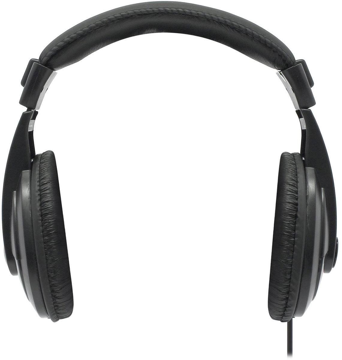 Defender Gryphon 751, Black накладные наушники63751Defender Gryphon 751 обеспечат кристально чистый звук! Прослушивание музыки доставит истинное удовольствие как ценителям классической музыки, так и поклонникам рока. Наушники не искажают звучание даже самых сложных аудиокомпозиций. Кабель длиной 2 метра со встроенным регулятором громкости позволит вам свободно перемещаться по помещению.